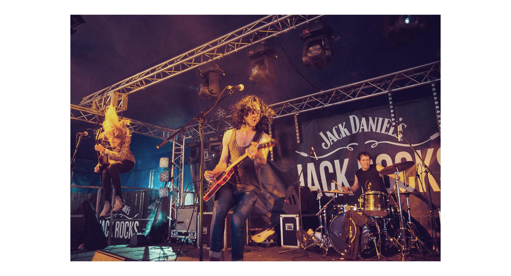 jack rocks the cut
